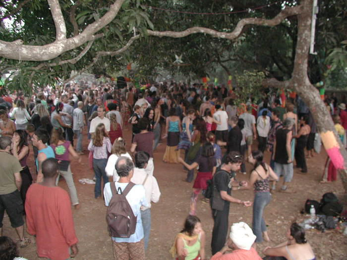 Full Moon Party 2002, November, as I remember it. This was the next day at mid-morning.