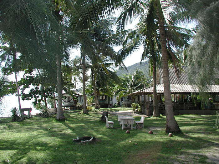 This was our guesthouse on Koh Phangan, and where we stayed during the famous full moon party.